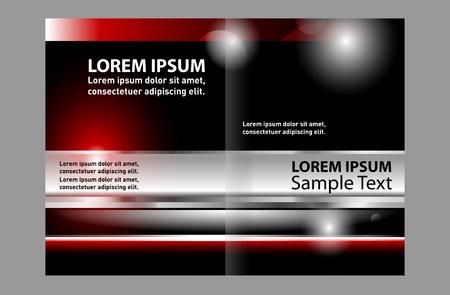 invitation barcode: Bi-Fold Brochure Design