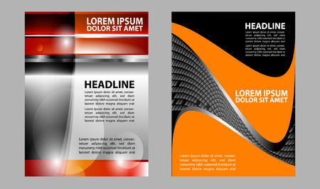 grey backgrounds: Marketing background flyer