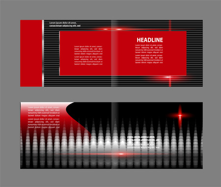 publisher: Vector business brochure, flyer template