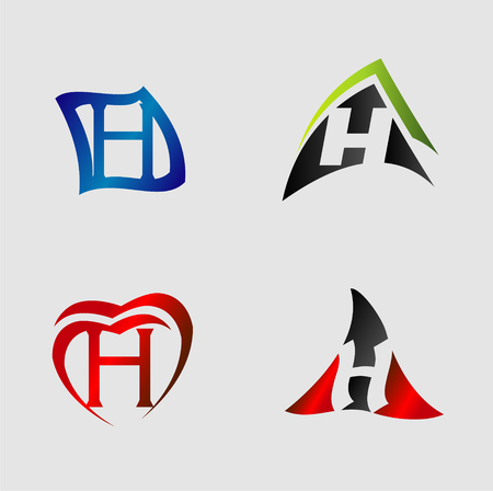 Set of alphabet symbols and elements of letter h royalty free set of alphabet symbols and elements of letter h stock vector 58874439 thecheapjerseys Images