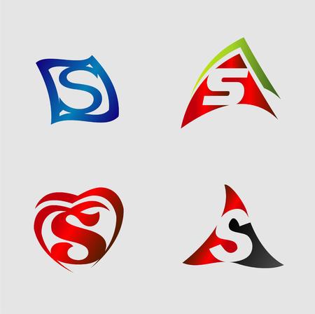 sch: Set of alphabet symbols and elements of letter S