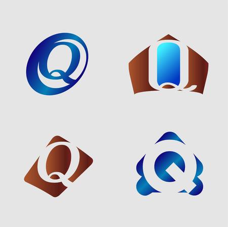 letter q: Letter Q  vector illustration Illustration