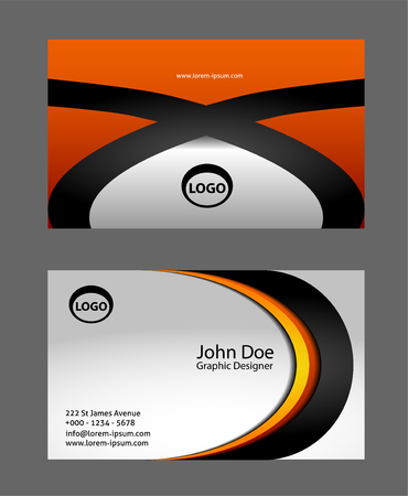 business cards: Abstract Business Cards