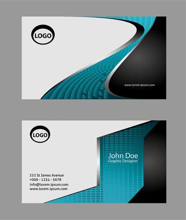 Diseño de tarjeta de visita Foto de archivo - 59492145