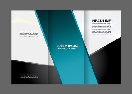 technologic: Tri-Fold Corporate Business Store Brochure Design Mock up
