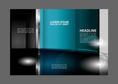 spreads: Tri fold brochure template business