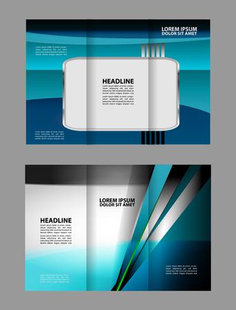 tri fold: Tri fold brochure template business