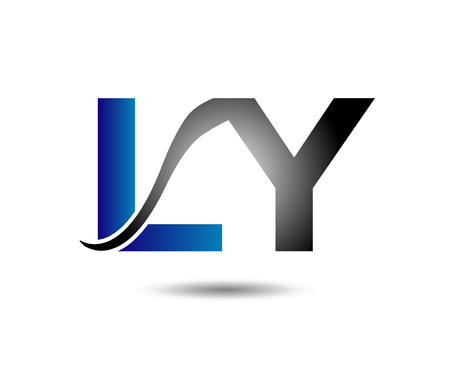 ly: LY  template Illustration