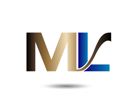 ml: Letter M and L