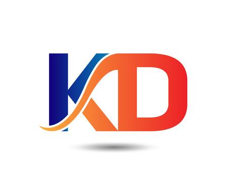 letter KD