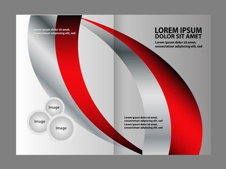 gender identity: Vector Abstract brochure design templates