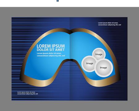 book spreads: Bi-Fold Brochure Design