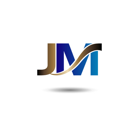 j and M letter