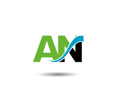 industrial design: Letter AN linked company logo