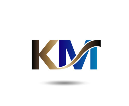 K and M letter
