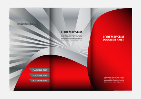 swish: Tri-fold Brochure Design Templates and Catalog Vector