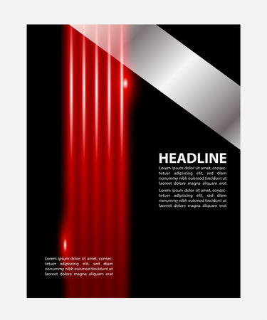 brochure cover design: Professional business flyer template, brochure, cover design or corporate banner