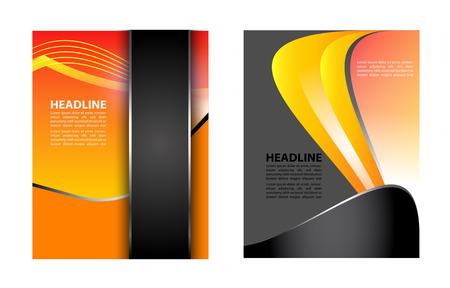 publisher: Vector business brochure, flyer template