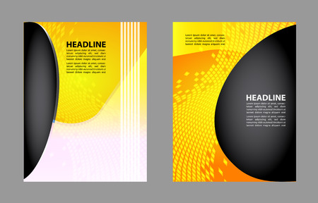 mesh: Professional business or corporate banner design layout design template. Magazine cover, publishing and print presentation. Abstract vector background.