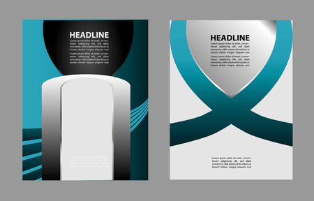 publishing: Professional business or corporate banner design layout design template. Magazine cover, publishing and print presentation. Abstract vector background.