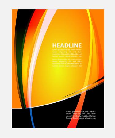 textfield: Orange flyer background