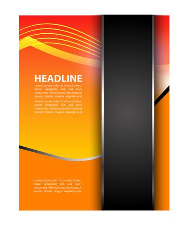 textfield: Creative background flyer Illustration