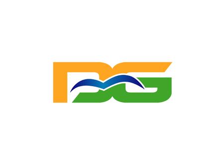 linked: DG company  linked Letter Illustration