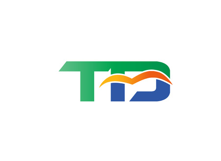 td: Letter T and D