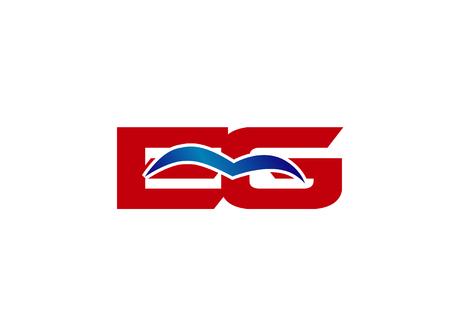 eg: EG letter logo