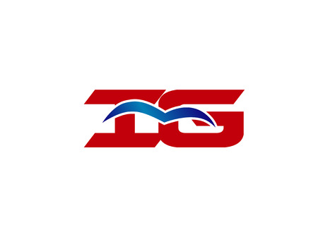 iG letter logo Ilustração