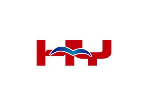 HY Logo. Vector Graphic Element Letter Branding Illustration