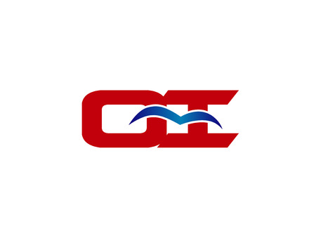 guayaba: Carta OI ligado logotipo de la empresa Vectores
