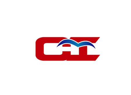 ci: Letter CI linked company logo Illustration