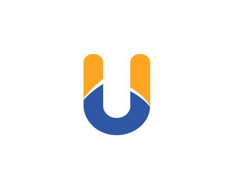 mounds: U logo icons Vector