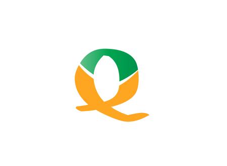q: Alphabet icons - q