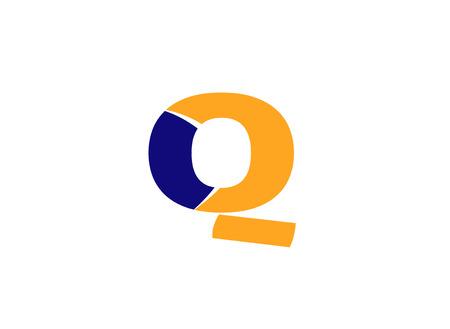 q: Letter q logo icon