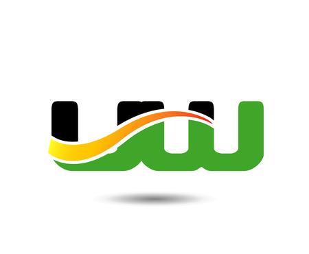mounds: UW Letter Illustration