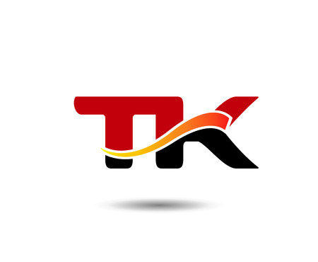 tk: Letter T and K