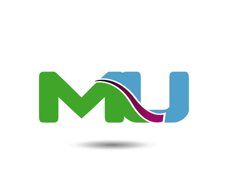 MU letter Illustration