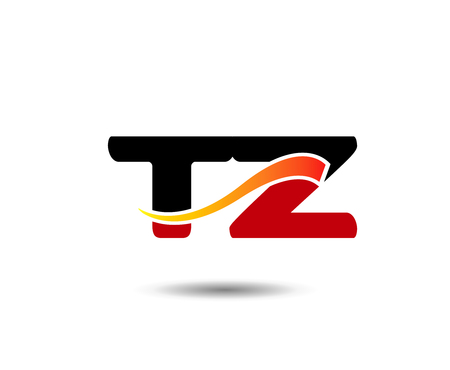Letter T and Z