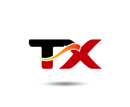 tx: Letter T and X