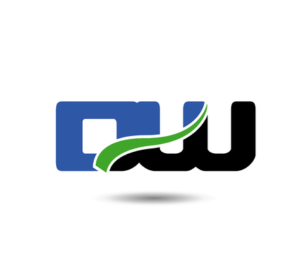 construction firm: Linked company  icon letter DW