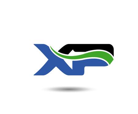 XP letter Illustration