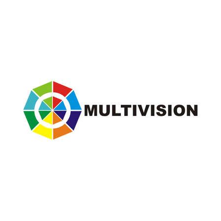 design logo vector full color Ilustracja