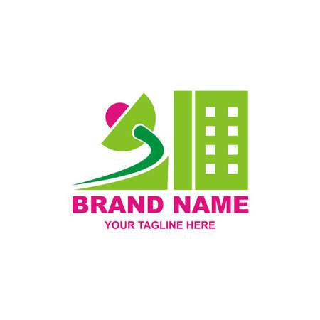 brand name design logo - estate