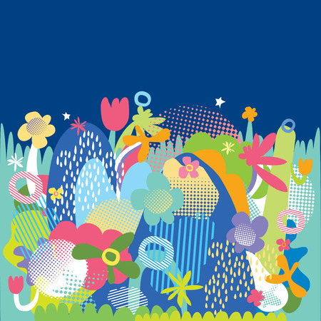 pleasing: colorful background illustration vector abstract freeform