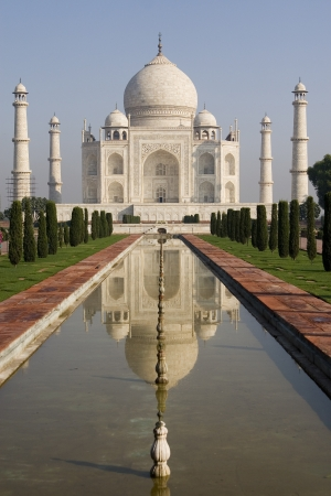 taj: Taj Mahal, India Stock Photo