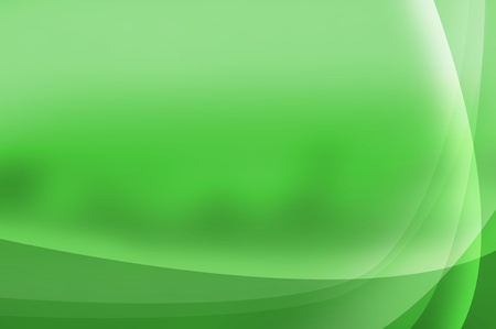 Green abstract background with space for your text photo