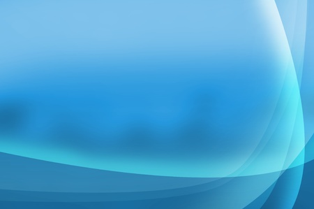 Blue abstract background with space for your text Stock Photo - 11376503