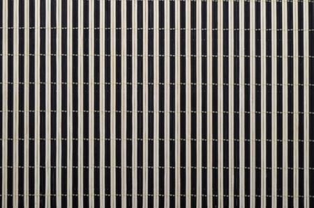 Close up of bamboo mat background  photo